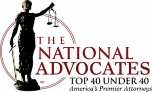 Bullock Law Firm's Adam Bullock was selected as a National Advocates Top 40 Under 40 attorney.